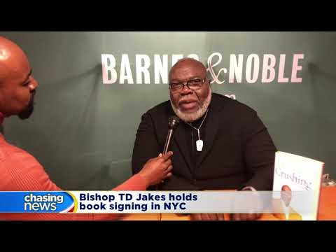 Bishop TD Jakes holds book signing in NYC