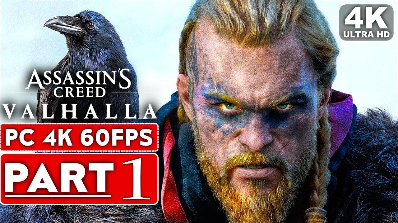 Assassin S Creed Valhalla Gameplay Walkthrough Part 1 4k 60fps Pc