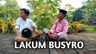 Download lagu Sholawat lakum busyro darbuka MP3