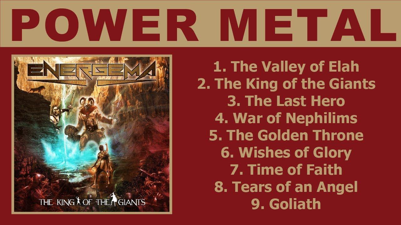 Energema - The King of the Giants (Power Metal) Full Album 2020