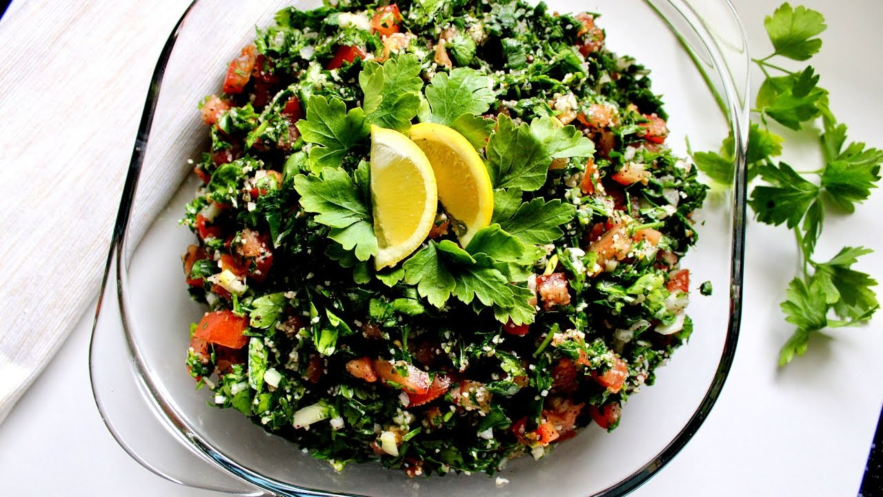 How to make tabbouleh salad (Fresh and Healthy Recipe) | Daniela's Home Cooking - YouTube