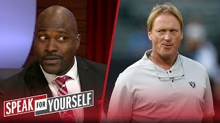 Marcellus Wiley on Jon Gruden's antics being 'at the cost' of the Raiders | NFL | SPEAK FOR YOURSELF