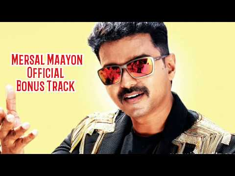 Mersal Maayon Official Song Single Track | Metsal Bonus Audio Vijay Samantha Kajal Atlee  Ar Rahman