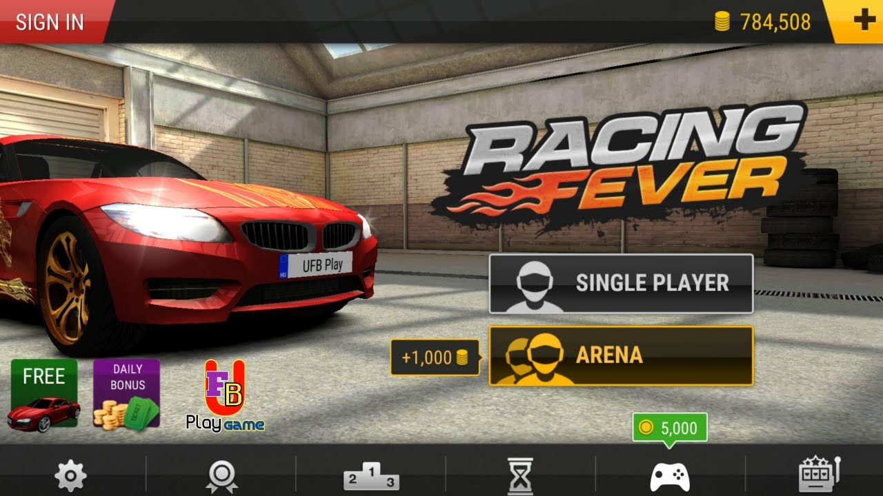 Real Racing Game Is Here! Pick Your Car, Start Driving And Join The Race Now || UFB Play Game