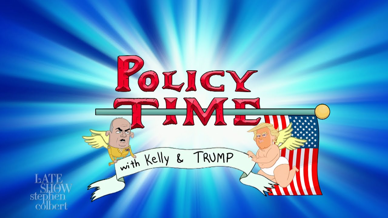 Policy Time With Trump And Kelly