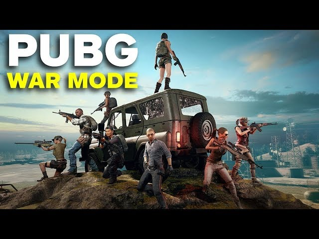 PUBG War Mode Special
