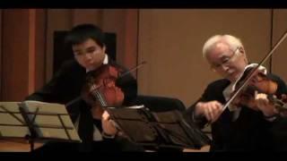 Tokyo String Quartet plays Tchaikovsky Souvenir de Florence Sextet