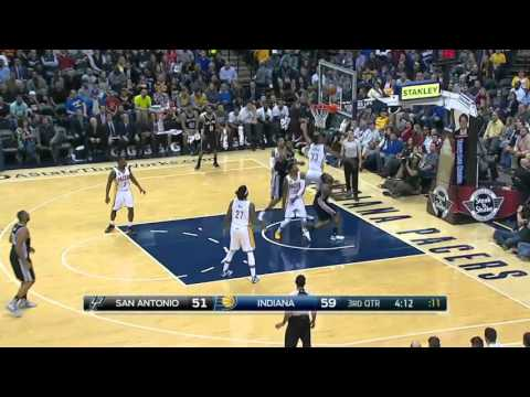 San Antonio Spurs vs Indiana Pacers | March 7, 2016 | NBA 2015-16 Season