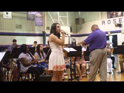 Leah Catherine Thompson singing