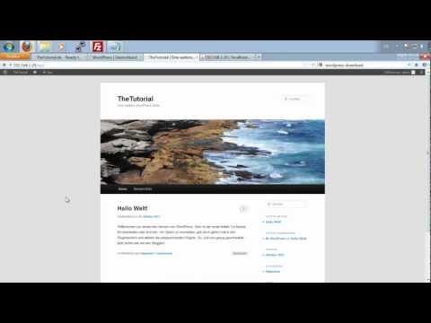 Eigenen WordPress Blog erstellen