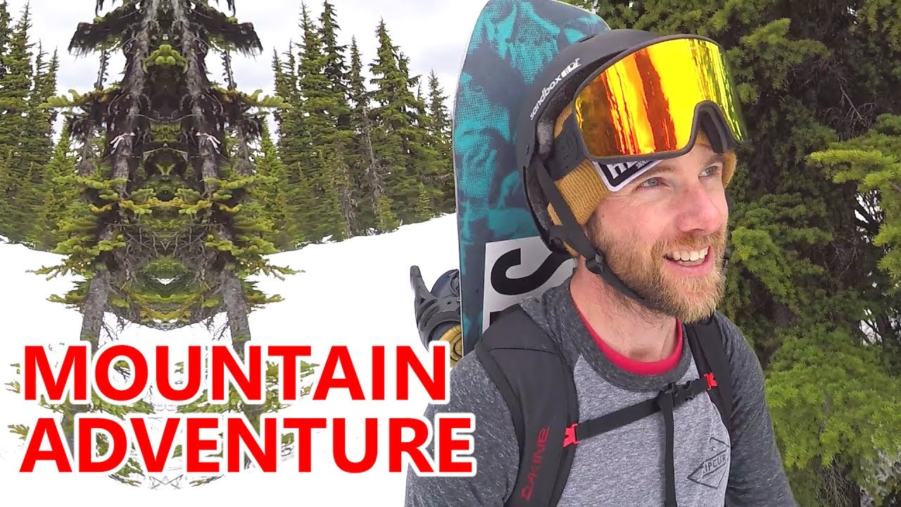 Epic Mountain Hike & Snowboarding Adventure