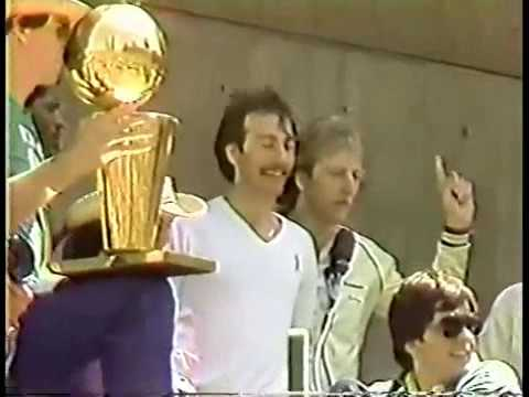 Local News: 1981 Celtics Championship parade + 1987 NBA Finals