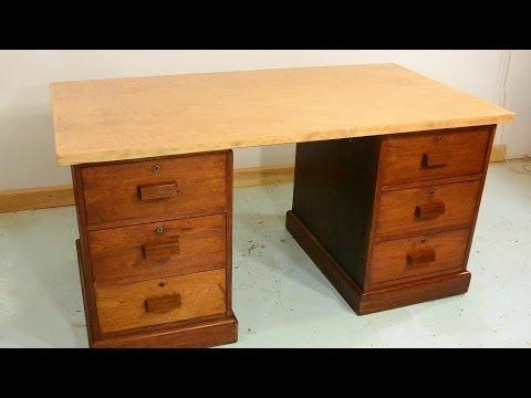 Trash To Treasure: Antique Desk Drawers
