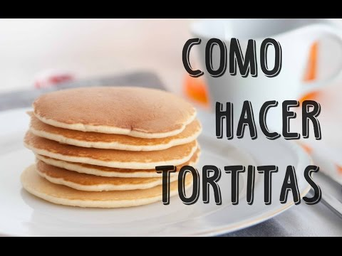 RECETA. Tortitas americanas / Pancakes. ♥