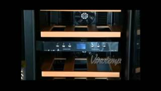 12 Bottle Dual-zone Wine Cooler - Vt-12teds-2z