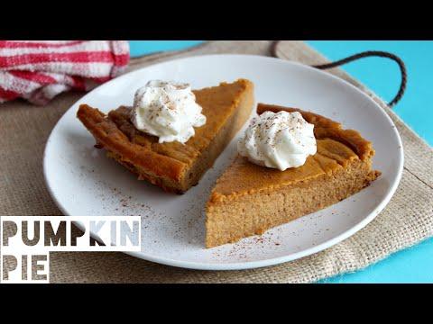 Healthy Pumpkin Pie Recipe | How To Make Low Calorie High Protein Pumpkin Pie