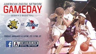 American Digital Network Women's Basketball - Wichita State vs Tulsa