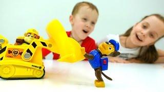 ЛИТЛ ПОНИ и ЩЕНЯЧИЙ ПАТРУЛЬ: Чиним детские площадки! #ИгрыДляДетей Детский шоппинг #Копинаки