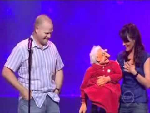 Nina Conti and her Grandmother