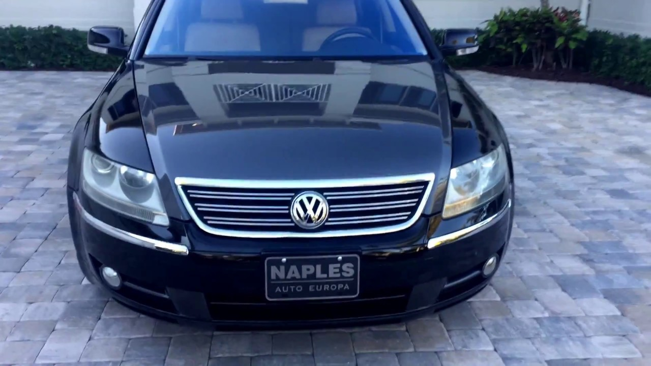 2004 volkswagen phaeton w12 premiere edition for sale by auto europa naples. Black Bedroom Furniture Sets. Home Design Ideas
