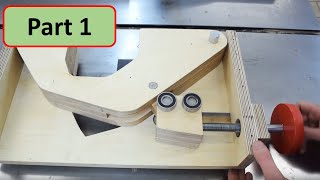 How to build a Table Saw with Simple Tools - Part 1: Blade Lift Mechanism