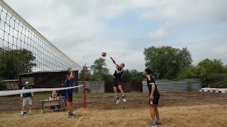 Пляжный волейбол районный турнир (июль 2016, Карасуский район)