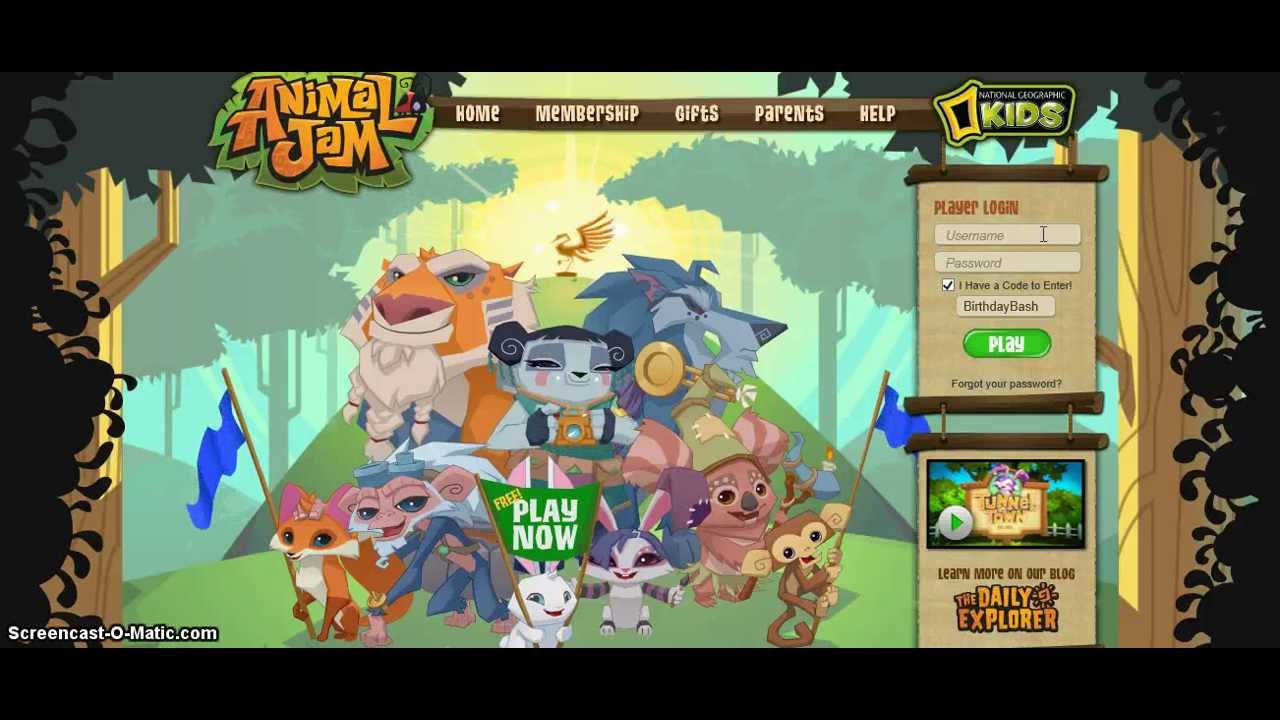Animal jam Birthday cake code YouTube