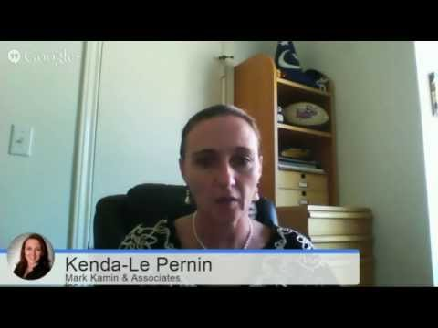 Kenda-Le Pernin on Jeff Klein's Speakers Sitting in Chairs Chatting On Air