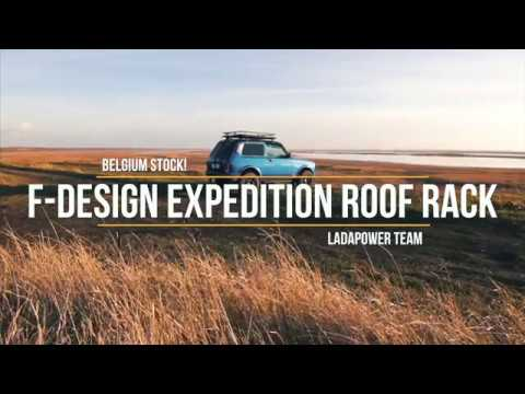 Lada Niva Urban 4x4 Expedition Extreme Roof Rack Tuning ...