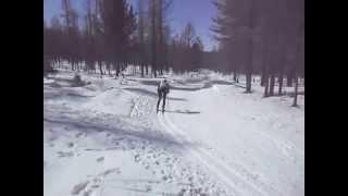 видео В Алдане дан старт Всероссийским соревнованиям по лыжным гонкам