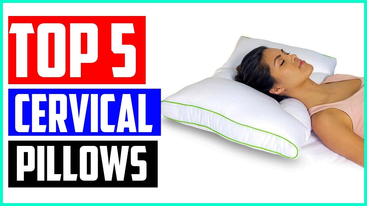 top 5 best cervical pillows for neck pain in 2019