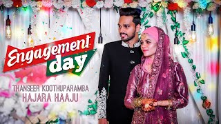 എൻഗേജ്‌മെന്റ് ഡേ | Thanseer koothuparamba Hajara Haaju l Engagement Day | Mobile Viral Videos |