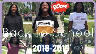 Teen Back to School Try on Haul 2018-2019
