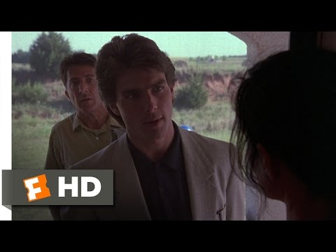 Rain Man (7/11) Movie CLIP - One Minute to Wapner! (1988) HD