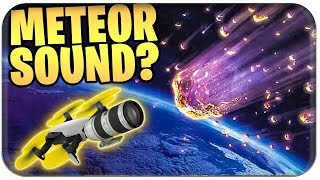 🚁😱 SEASON 4 BOTSCHAFT - METEOR IS THE ANFANG? ☄️ | Fortnite Meteorite German German