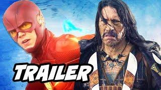 The Flash 4x02 Promo - The Flash vs Danny Trejo Breakdown