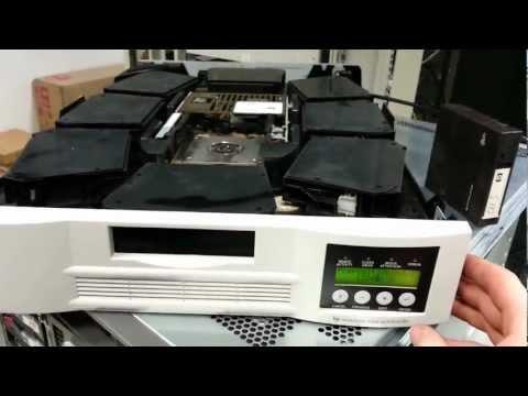 HP DLT tape autoloader