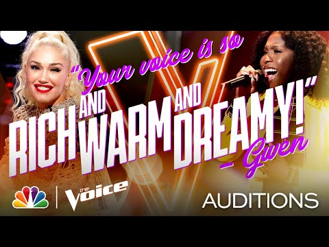 """Larriah Jackson with Mariah Carey's Version of Jackson 5's """"I'll Be There"""" - Voice Blind Auditions"""