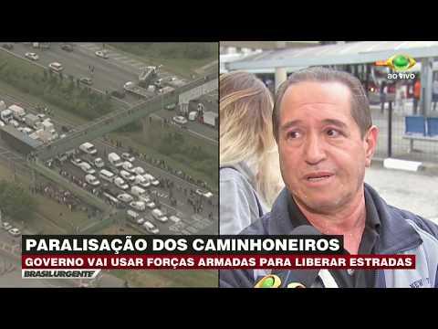 Paralisação Dos Caminhoneiros Prejudica ônibus De SP