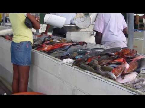 Fish Market Antigua Jan 2013
