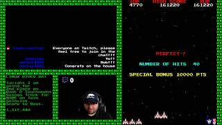 Galaga MAME: Rank D Tournament Score Submission for Twin Galaxies
