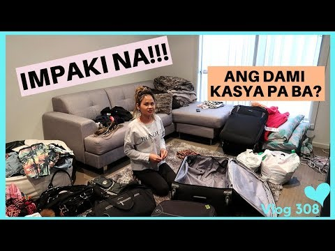 SEE YOU PHILIPPINES!! PACKING AND LAST SHOPPING