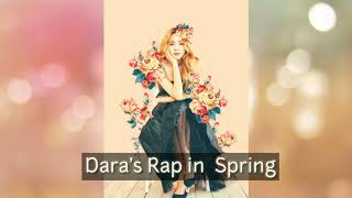 Dara's Rap Part in Spring #Parkbom #Spring #Dara