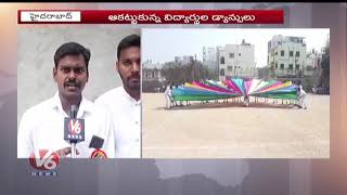 Republic Day Celebrations Celebrations In Yuva Junior And Defence College  Telugu News