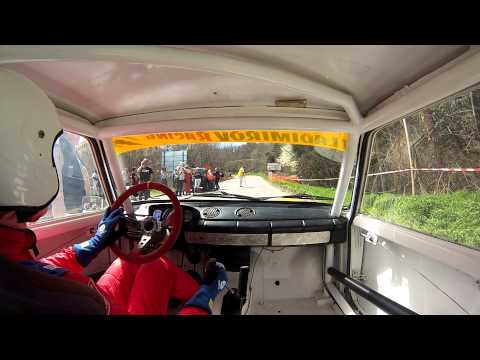 Hill Climb Varna 2013 Onboard, First Training