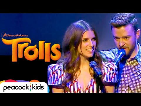 Justin Timberlake and Anna Kendrick  True Colors  at Cannes   TROLLS