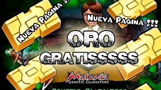 Mutants: Genetic Gladiators. ORO GRATIS !!! . Jugando con Damty