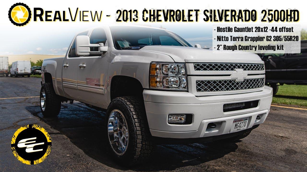 RealView - Leveled 2013 Chevy Silverado 2500HD NorCal Mod ...