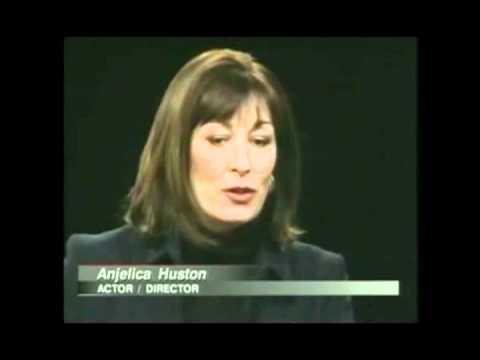 Anjelica Huston - Charlie Rose Part 1