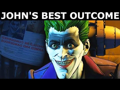 John Doe's Best Ending & Final Outcome - BATMAN Season 2 The Enemy Within Episode 5: Same Stitch